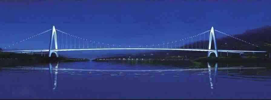 渠江景观大桥